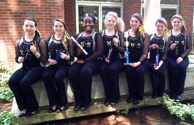 Kenwood High School Dance Team takes honors