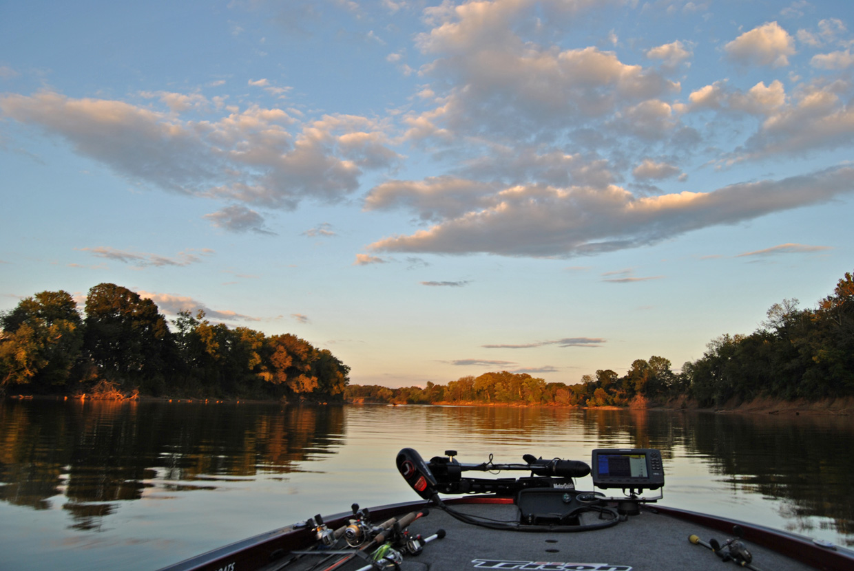 Clarksville area offers many fishing opportunities for Local bass fishing clubs