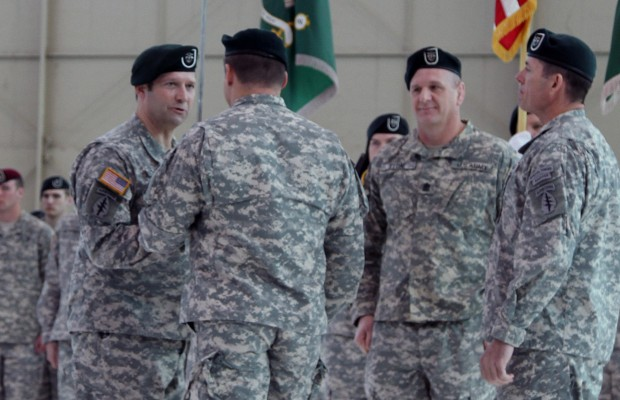 The Legion welcomes new Command Sergeant Major