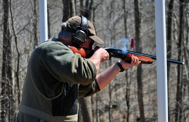 Dozens compete in sporting clay fundraiser