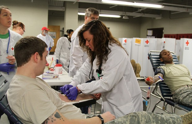 5th Special Forces Group hosts blood drive