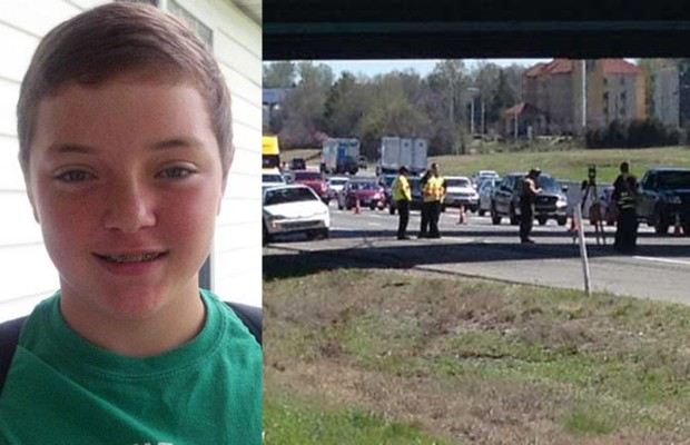13-year-old hit and killed on I-24 while changing tire