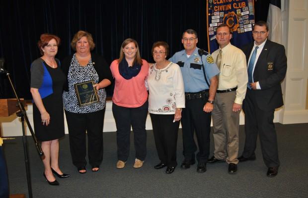 Clarksville Civitan Club holds public safety awards