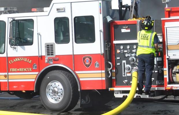 Arson suspected at apartment complex