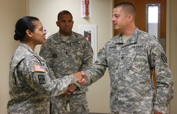 Top enlisted MEDCOM Soldier visits BACH
