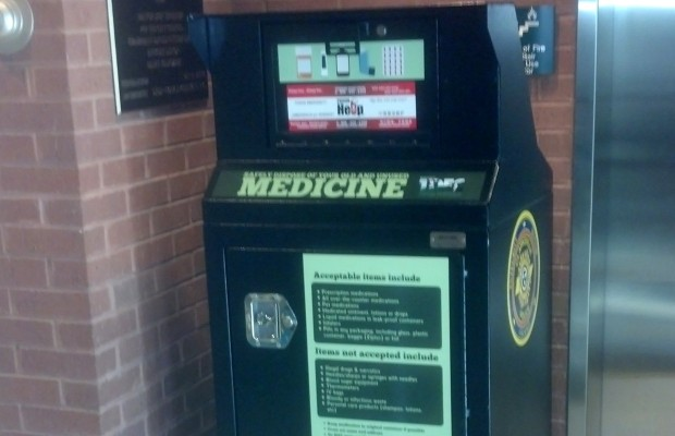 CPD now has various pill drop box locations