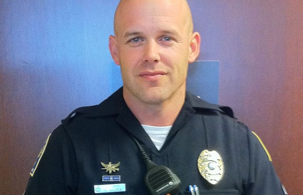 Regions Bank recognizes officer for actions during robbery