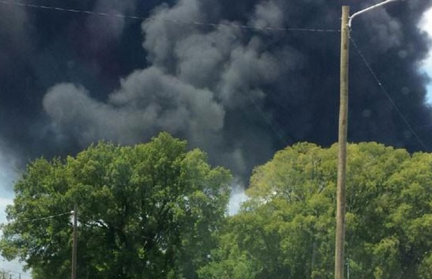 Tanker truck explosion reported in Nashville