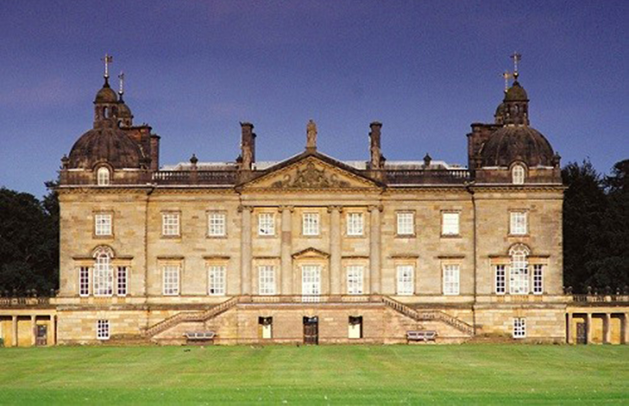 Houghton hall portrait of an english country house for Pictures of english country houses