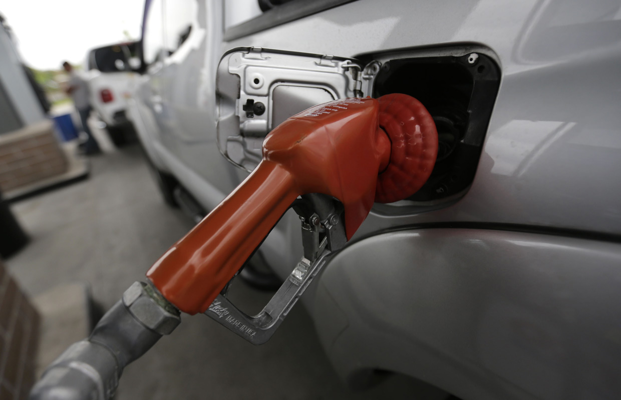 Gas prices continue to slide
