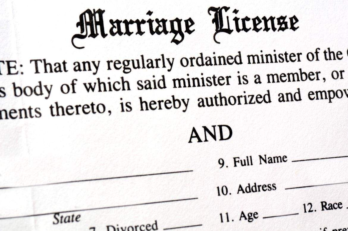 Same sex marriage license online in Brisbane