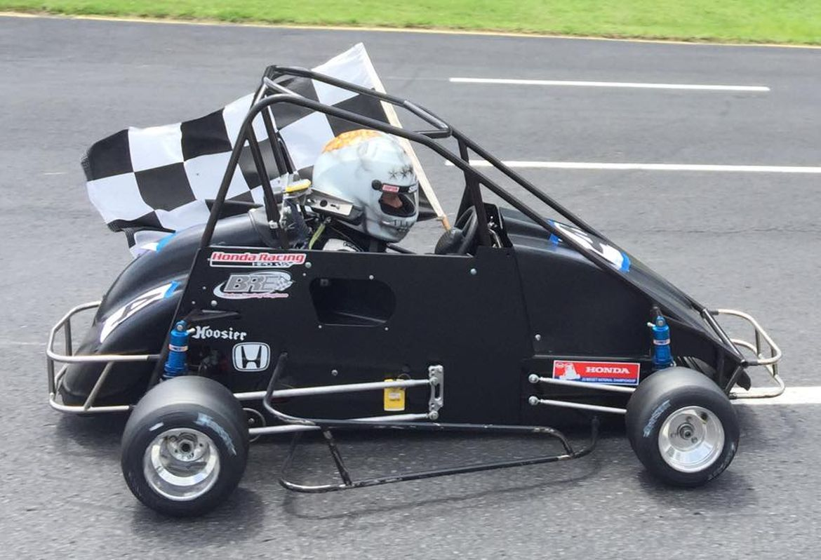 Midget racer plans pain from