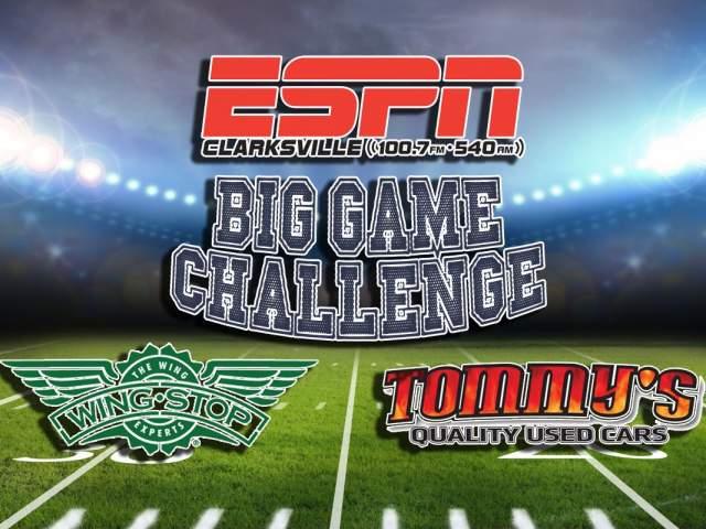Big Game Challenge 2