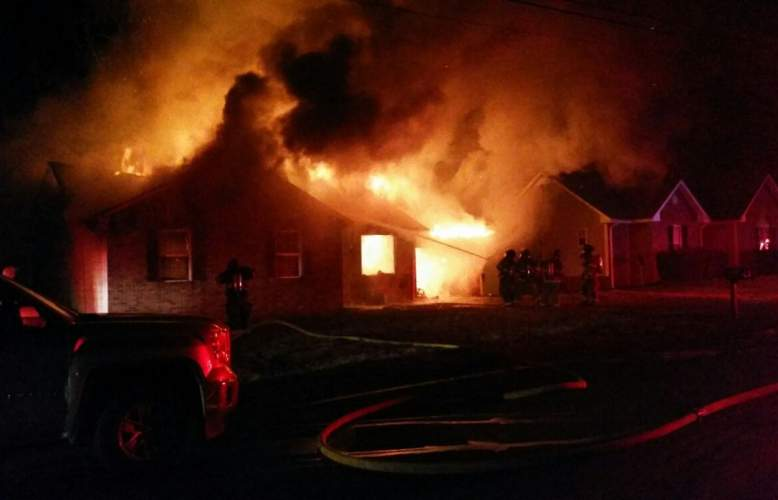 Clarksville home destroyed by fire