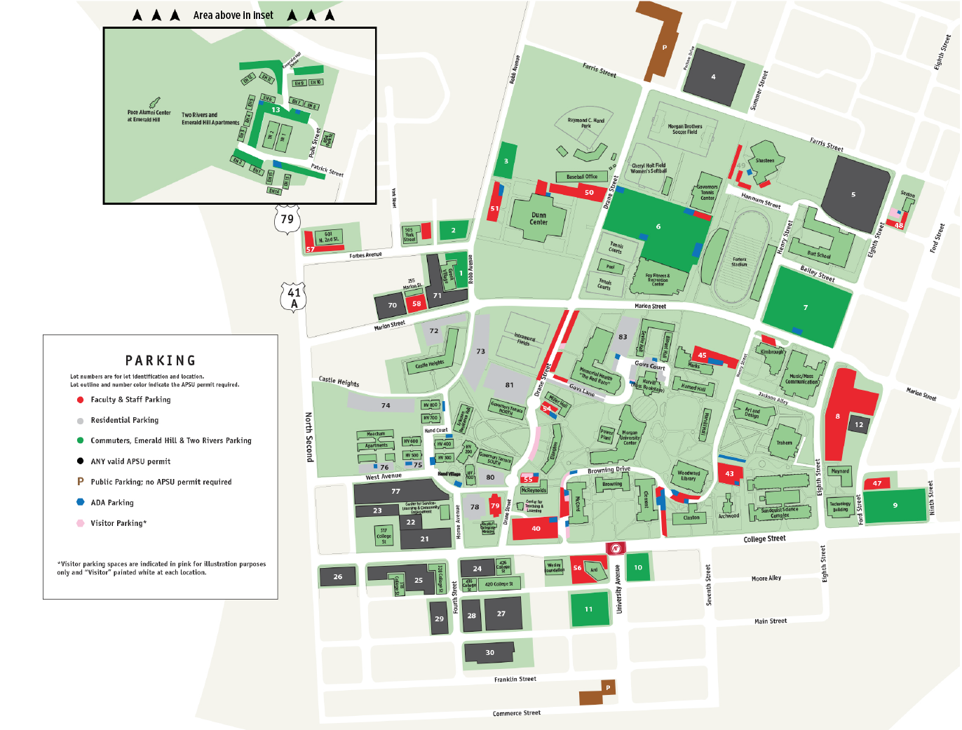 Apsu Campus Map Apsu Campus Map   compressportnederland Apsu Campus Map