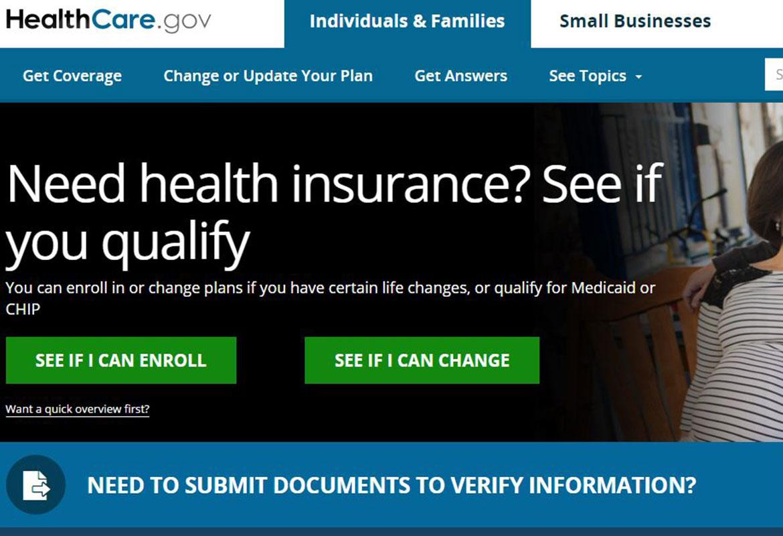 Open enrollment begins Nov. 1 on federal marketplace ... Marketplace Healthcare Gov Site