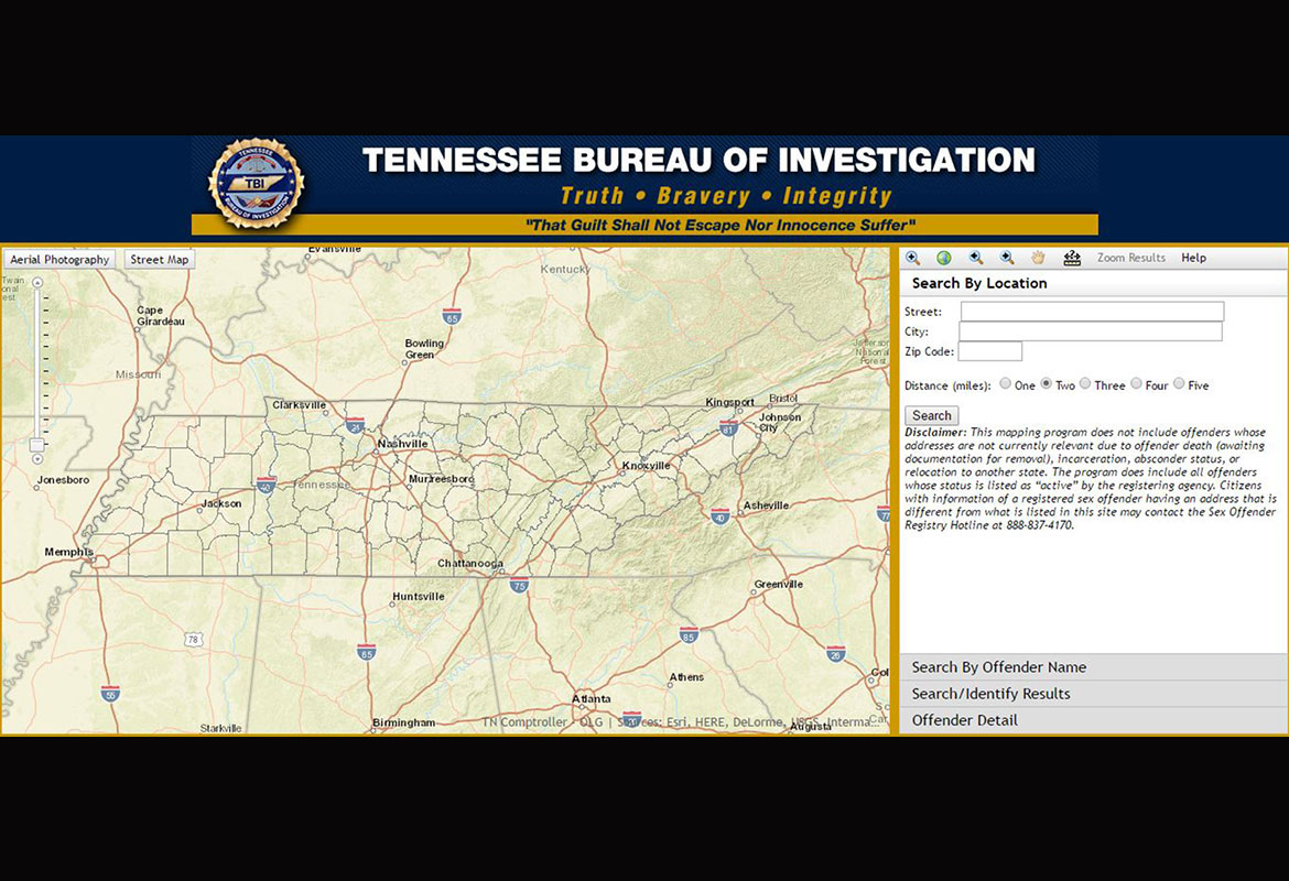 tbi sex offenders in tennessee