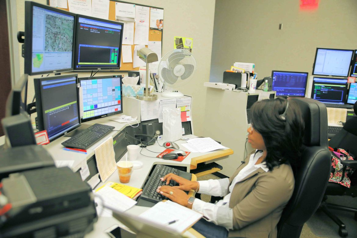 911 operators celebrate National Public Safety Telecommunicators Week