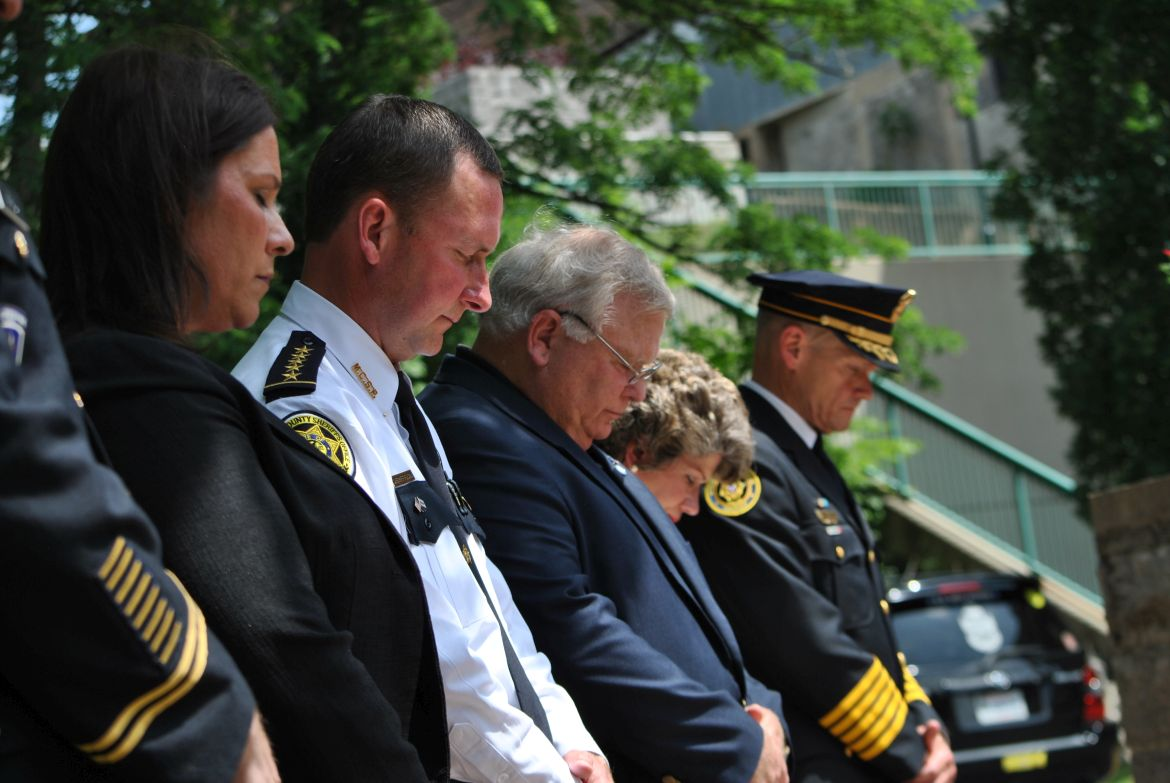 Fallen police officers honored during ceremony outside NH statehouse
