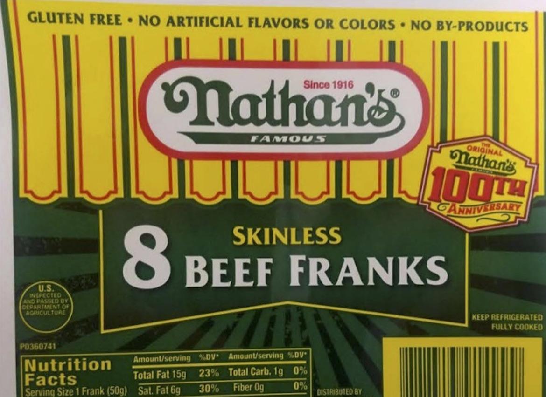 Cincinnati hot dog maker issues recall due to possible metal contamination