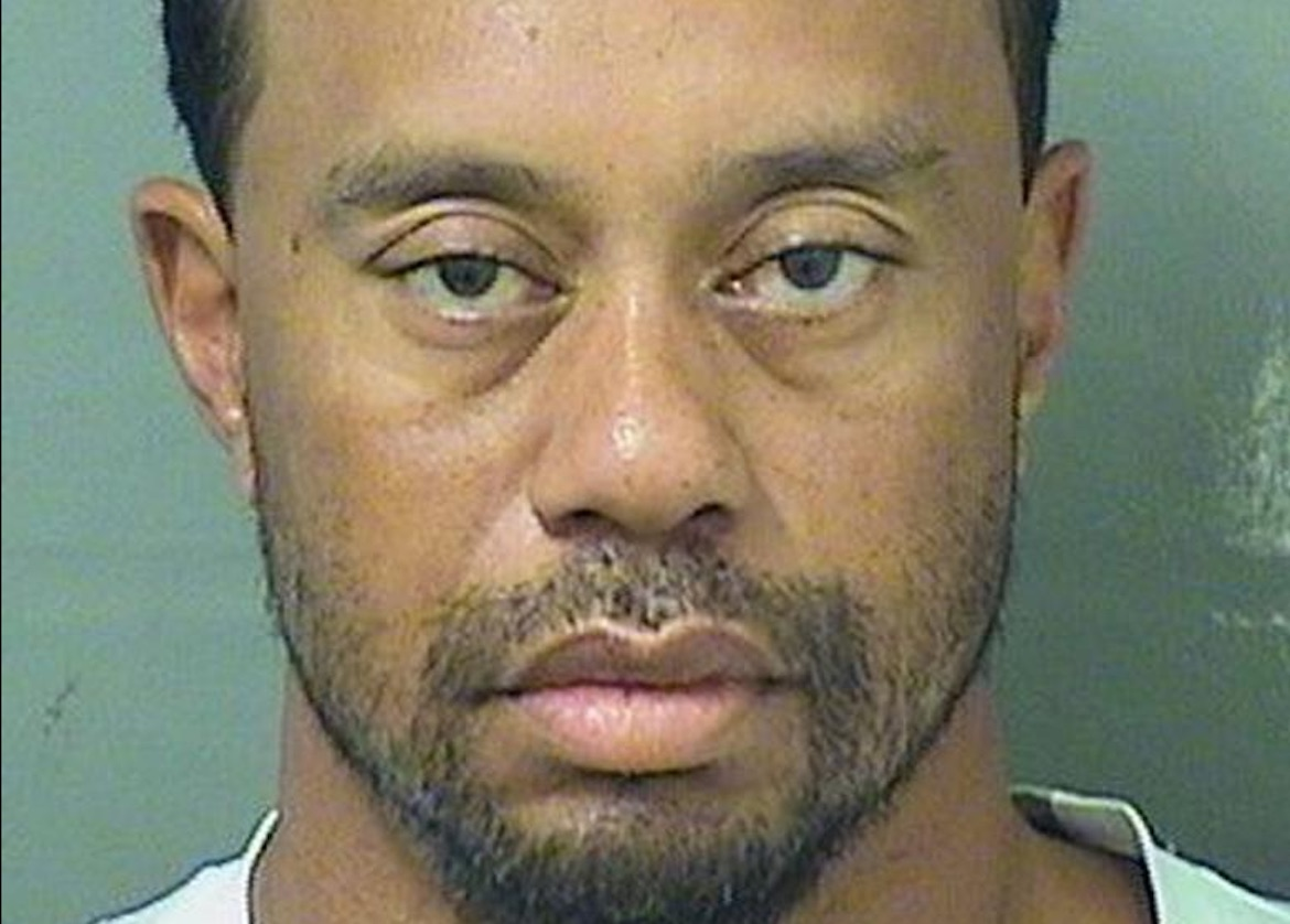 Tiger Woods arrested in South Florida