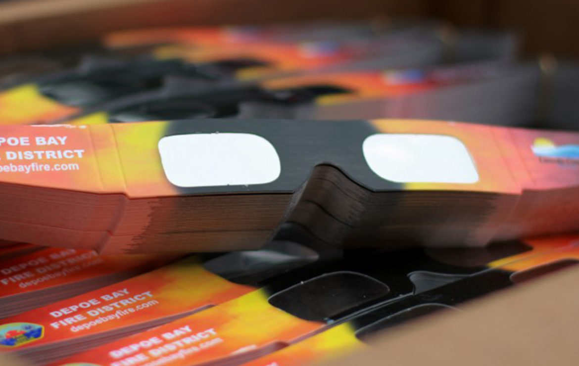 Eclipse glasses becoming harder to find