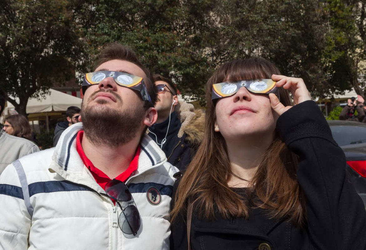 SOLD OUT - NASA approved eclipse viewing glasses flying off shelves