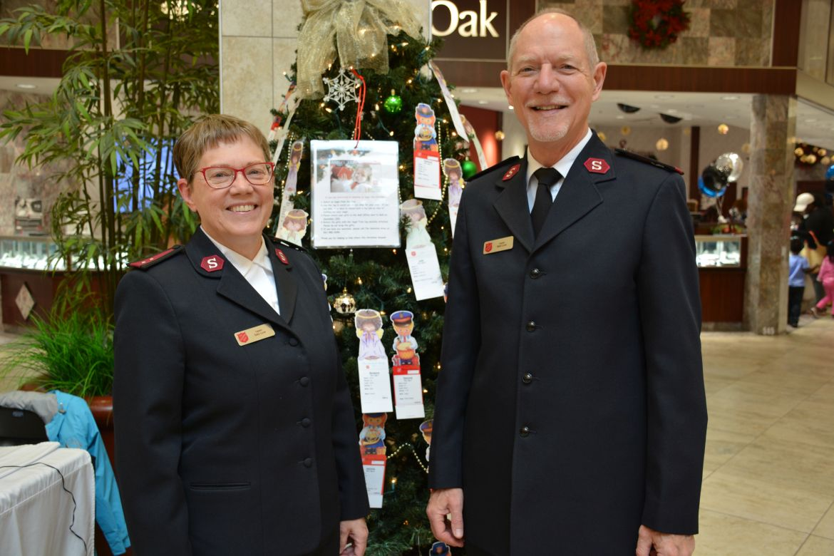 Salvation Army Sign Up for Thanksgiving and Christmas Programs Next Two Weeks