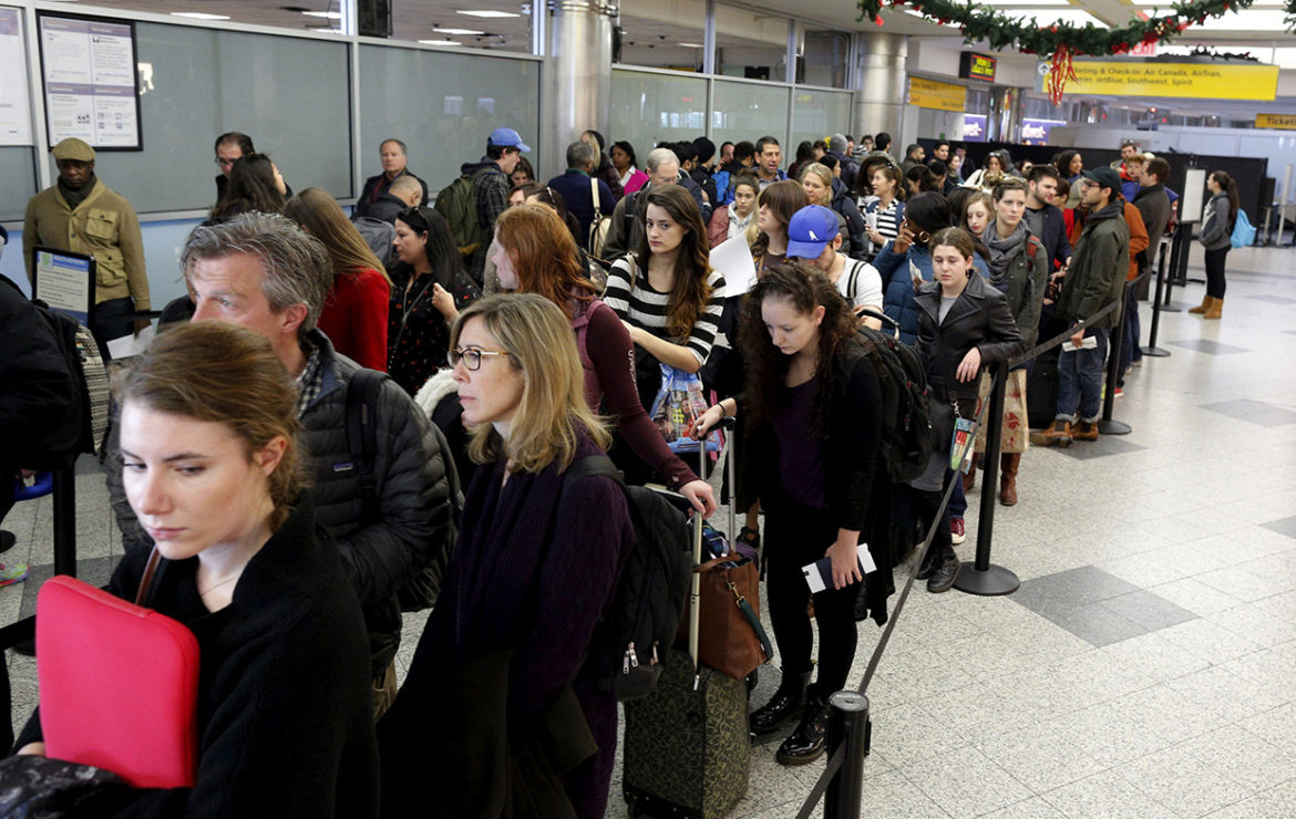 Thanksgiving travel expected to be at highest level in 12 years