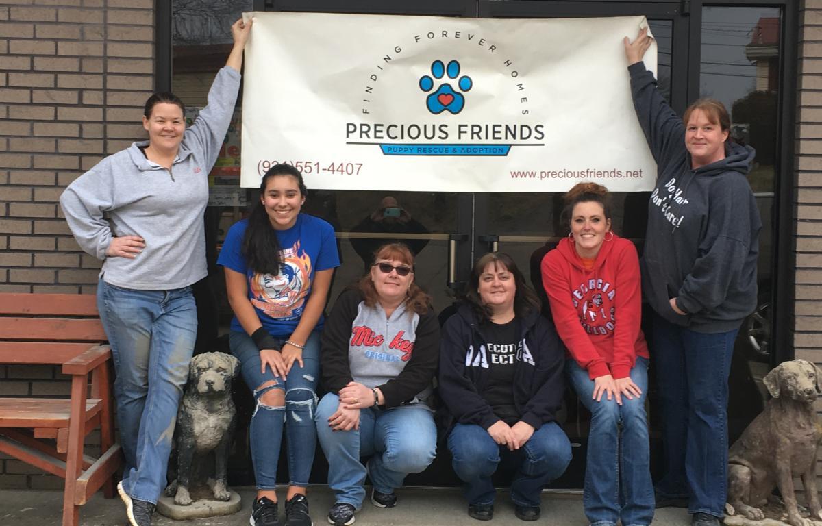 Indoor yard sale to benefit Precious Friends Puppy Rescue in