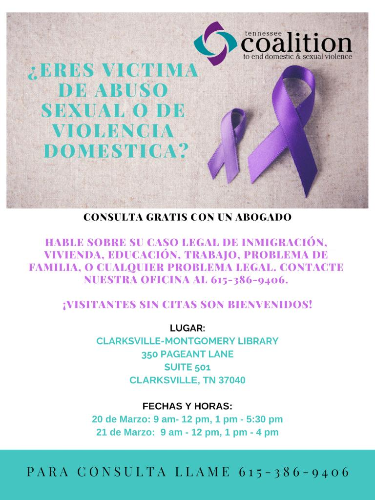 Latino coalition for domestic and sexual violence